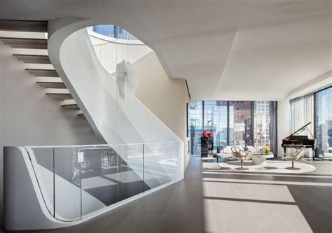triplex penthouse  zaha hadids high  condo