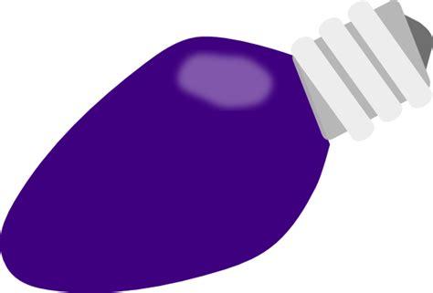 purple christmas lightbulb clip art at clker com vector