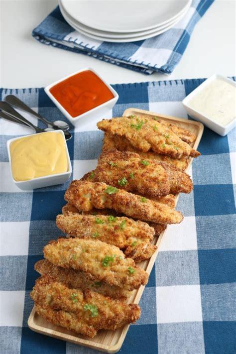 chicken air fryer tenders recipe dinner