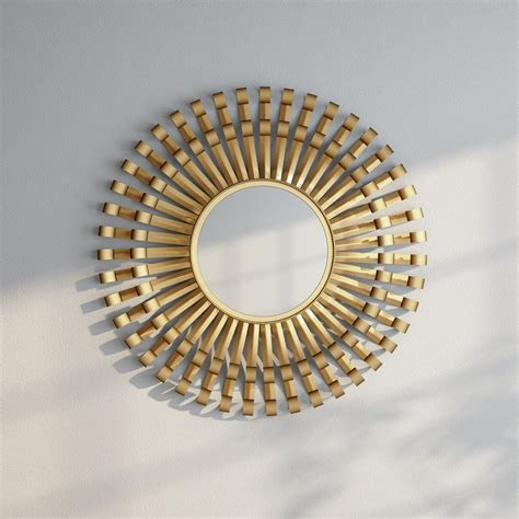 Safavieh Sunburst Mirror by Safavieh Rayos Sunburst 36 In X 36 In Framed