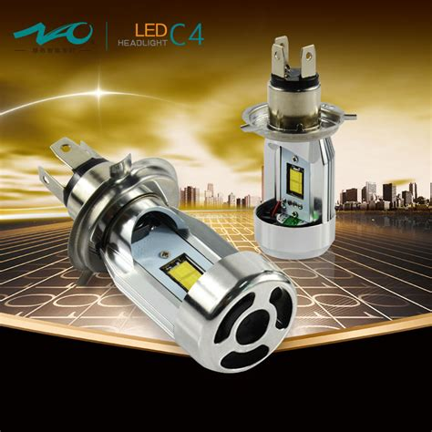 2016 car h4 led headlights hi lo 25w 2800lm auto l led