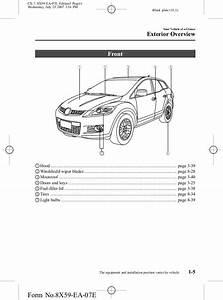 2007 Mazda Cx 7 Fuse Box