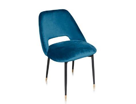 chaise velours la chaise healey une chaise en velours dans le style des