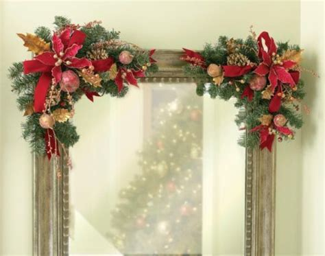 images  christmas swags  arches  pinterest
