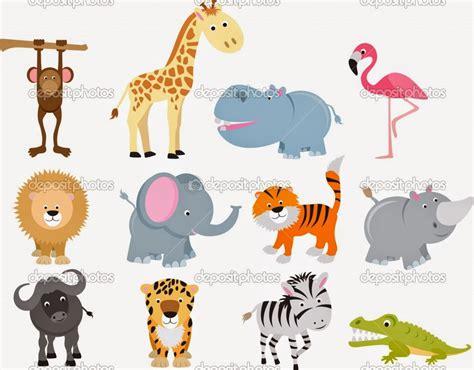 Cute Cartoon Animals Wallpaper