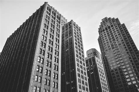 Picallscom  Buildings In Black And White By Davide Ragusa