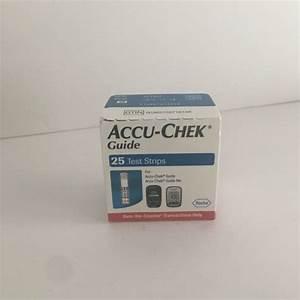 Accu-chek Guide Glucose Blood Test Strips