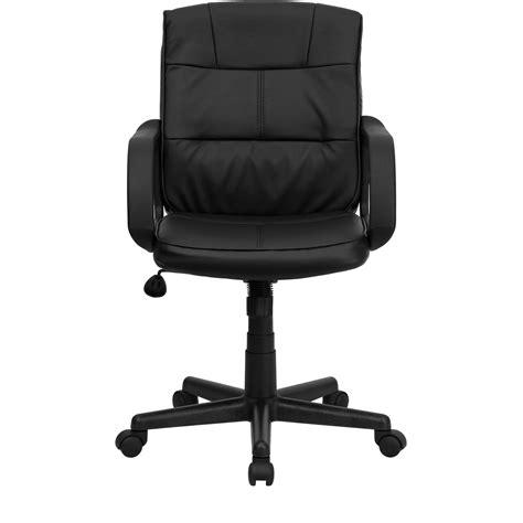 black leather desk chair dorado black leather office chair