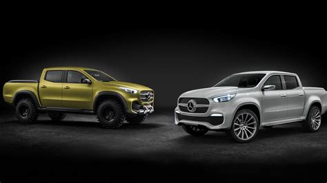 Mercedesbenz Pickup Concept Revealed, Will Become Xclass