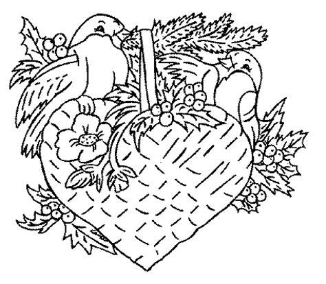 de coeur de saints valentin coloriage
