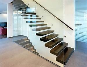 Treppe Mit Glasgeländer : treppenbau aufleiter roy plz 13125 berlin kragarmtreppe aus massivholzstufen und ~ Sanjose-hotels-ca.com Haus und Dekorationen