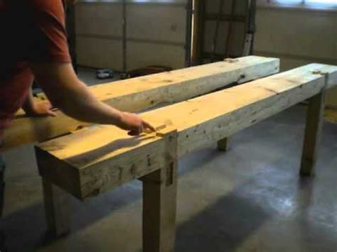 building  traditional woodworking bench part  top
