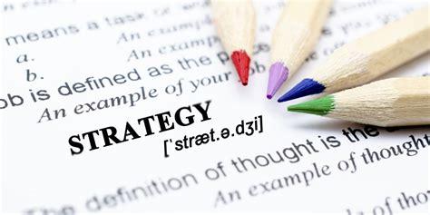developing  strategy strategy skills training