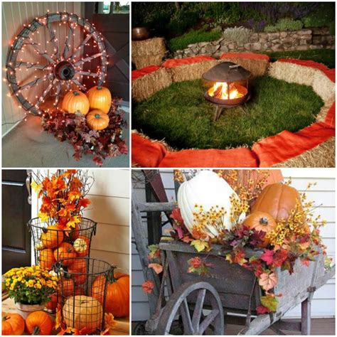 Outside Decoration Ideas - outdoor fall decorating ideas for your home