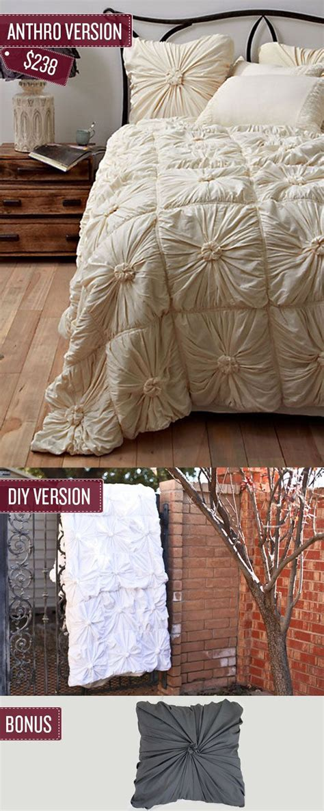 sew  quilted bedspread diy anthropologie bedding