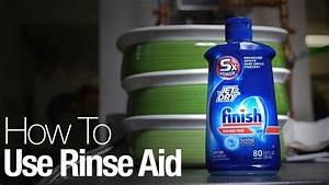 How To Make Your Dishwasher Dry Dishes Better  Use Rinse