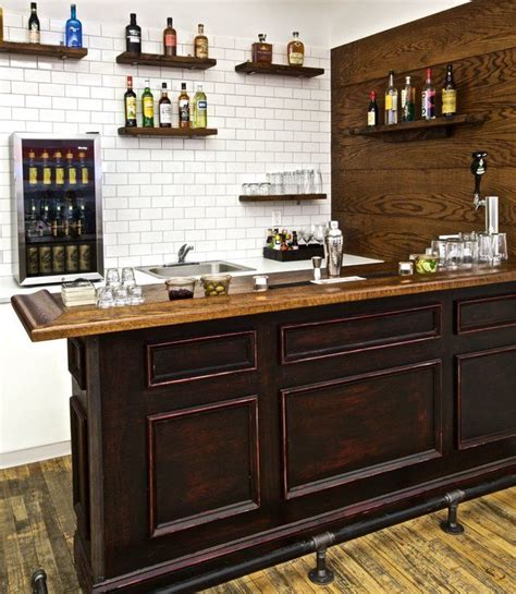 Built In Home Bar Ideas by Best 25 Building A Home Bar Ideas On Bars For