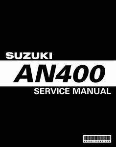 Download Suzuki Burgman An400 Service Manual    Zofti