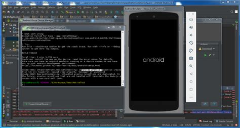 Android Studio + React Native