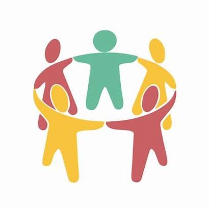 Friends Transparent Clipart Help Icon Support Organization