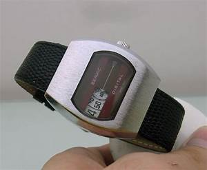 Seavac Swiss Manual Vintage Digital Watch For Man Cal 1241
