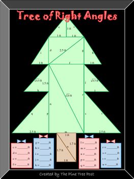 tree   angles  pythagorean theorem activity