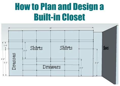 plan  design  walk  closet sawdust girl