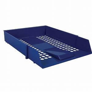 blue plastic letter tray 12 pack wx10052 With plastic letter size trays