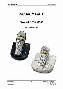 Siemens Gigaset C675 Repair Manual