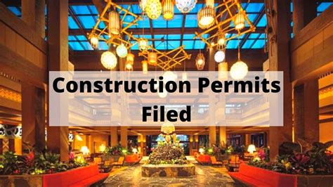 New Permit Shows Glimpse of Construction for Disney's ...
