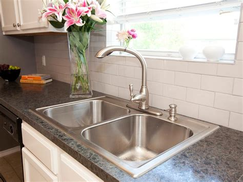 kitchen sink cheap cheap kitchen countertops pictures options ideas hgtv 2613