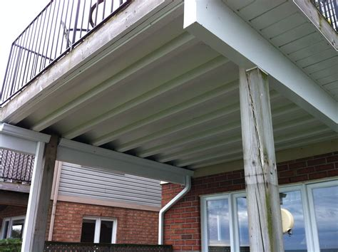 Diy Deck Ceiling Kits Nationwide by Underdeck Water Drainage System Using Underdeck The