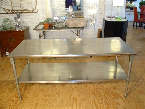 stainless steel kitchen island table stainless steel kitchen island table home design ideas