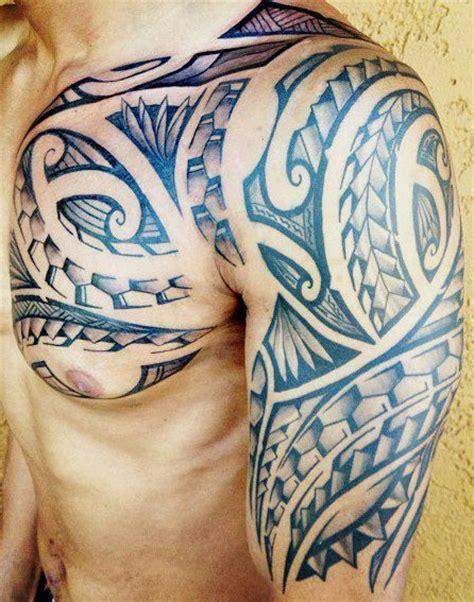 Modele Tatouage Homme Mod 232 Le Tatouages Polyn 233 Sien