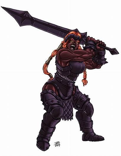 Giant Fire Female Deviantart Fantasy Dnd Prodigyduck