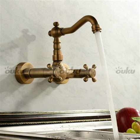 antique brass kitchen faucet sale antique handle wall mount kitchen faucet mixer