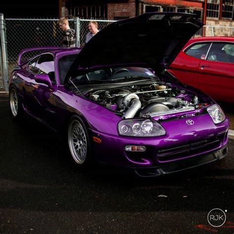 Car, Toyota Supra Mk4, Stance, Tuning, Lowered, Engine