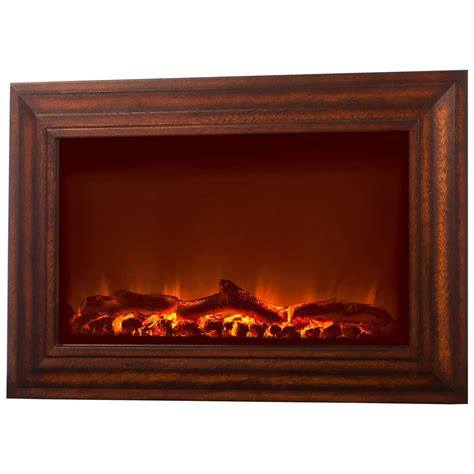 Kamin Wand by Wall Mounted Electric Fireplace Wood 281335 Fireplaces