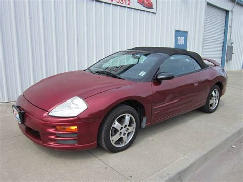 2004 Mitsubishi Eclipse For Sale by 2004 Mitsubishi Eclipse Convertible For Sale 85 Used Cars