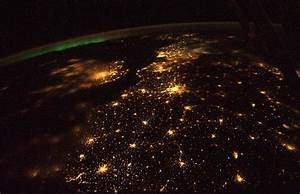 Earth at night from space station | Surprise Me!