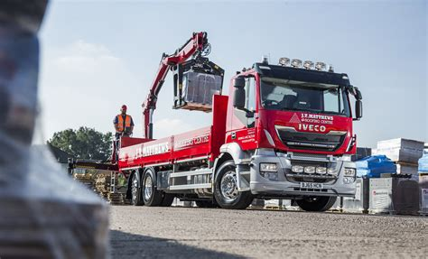 New Iveco Stralis Keeps J.t. Matthews Beaming Thanks To