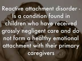 """what is reactive attachment disorder"""" class=""""alignleft"""" /> In ... Reactive attachment disorder of infancy or early childhood"""