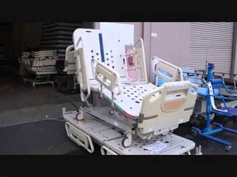 37122 stand up bed hill rom advanta p1600 hospital beds for