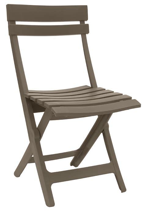 chaise pliante plastique chaise de jardin pliante miami grosfillex