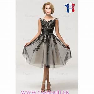 robe mere de la mariee courte blanche et noire With robe pour mere dela mariee