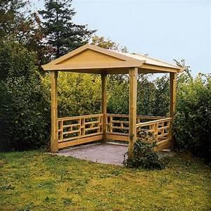 Aus Holz Bauen : gartenpavillon holz selber machen ~ Lizthompson.info Haus und Dekorationen