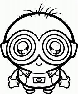 How to Draw a Chibi Minion, Step by Step, Chibis, Draw ...