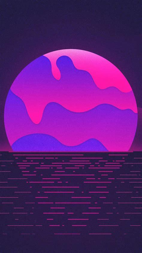 4k Neon Wallpaper Mobile by Neon Purple Sunset Free 4k Ultra Hd Mobile