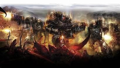 Space Warhammer Legion Damned Marines Demon Backgrounds