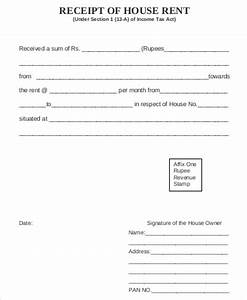 room rent slip for income tax free 7 house rent receipt samples in ms word pdf
